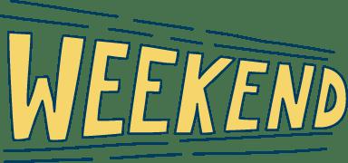 Weekend Banner