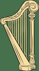 Floor Harp