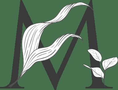 "Leafy Letter ""M"""