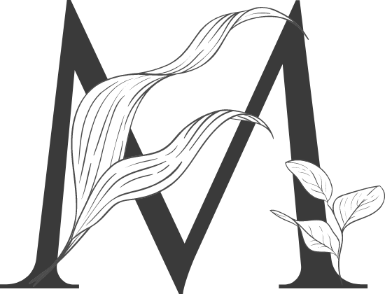 "Leafy Letter ""M"""