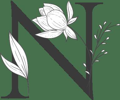 """Leafy Letter """"N"""""""