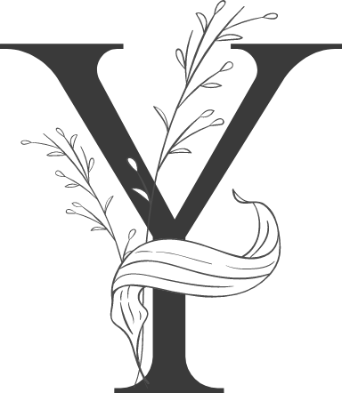 "Leafy Letter ""Y"""
