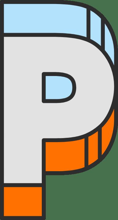 """Dimension Letter """"P"""""""