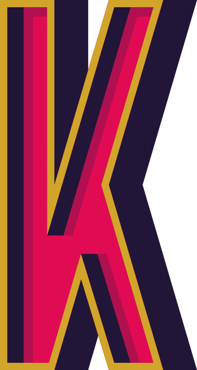 "Marquee Letter ""K"""
