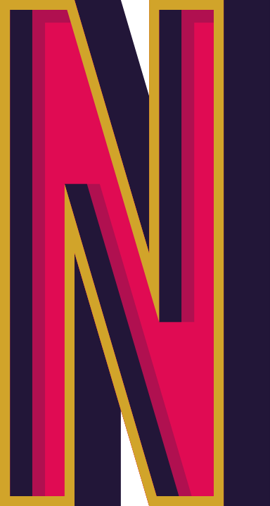 "Marquee Letter ""N"""