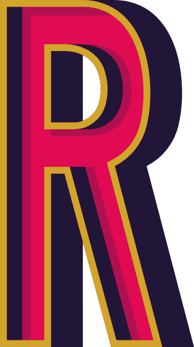"Marquee Letter ""R"""