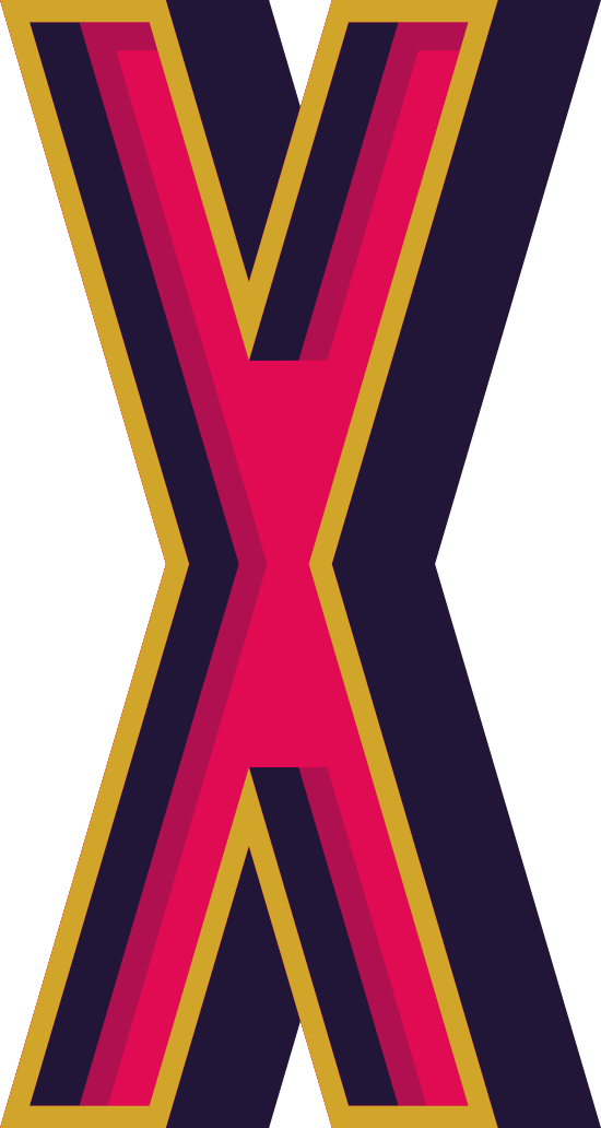 "Marquee Letter ""X"""