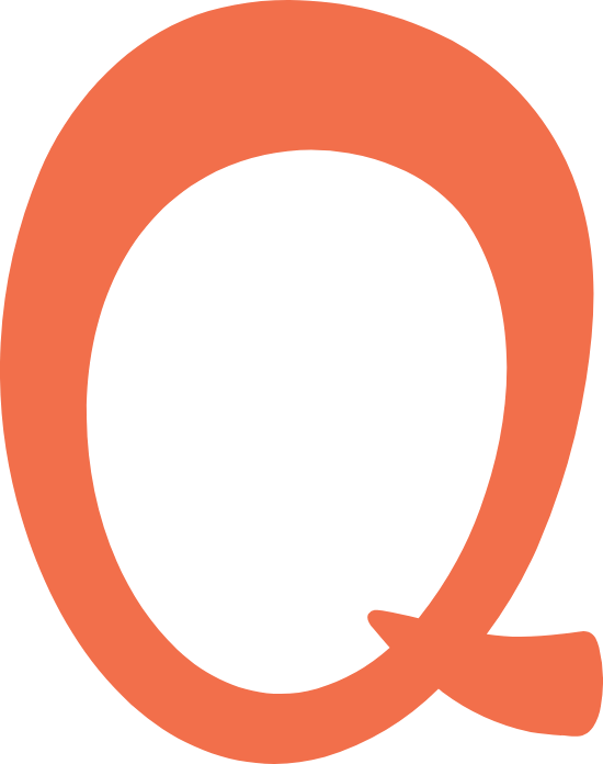 "Whimsical Letter ""Q"""