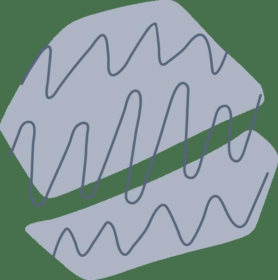Split Line Blob