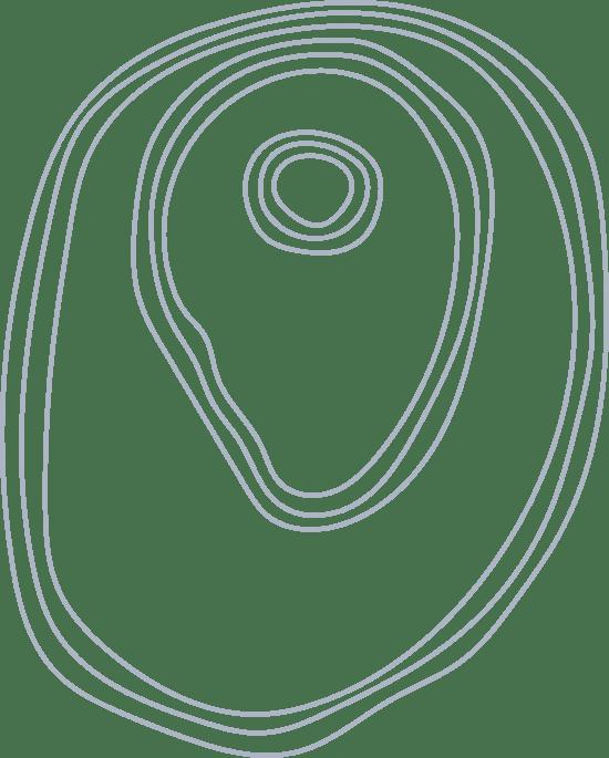 Offset Line Blob