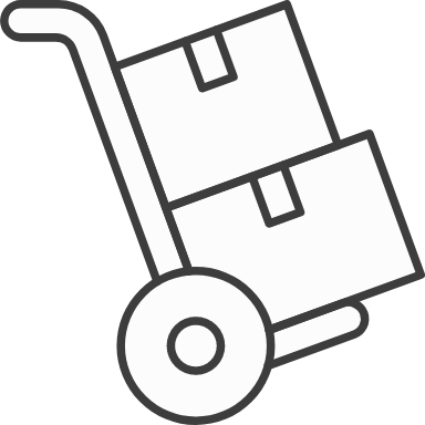 Moving Dolly & Boxes