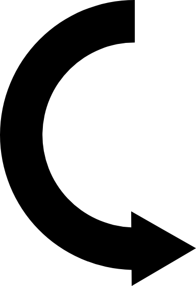 Semicircle Arrow
