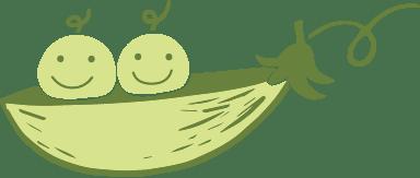 Happy Peas In A Pod