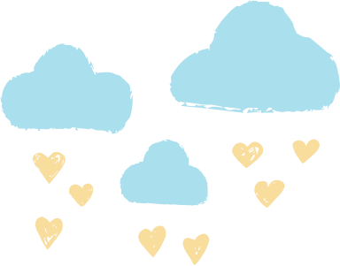Clouds & Hearts