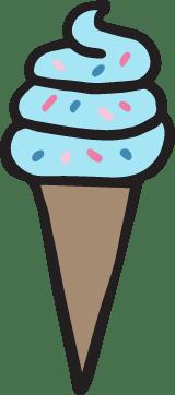 Ice Cream Cone Swirl