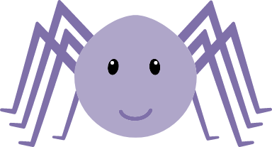 Cheerful Spider