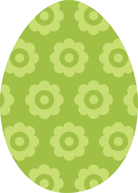 Flowered Egg