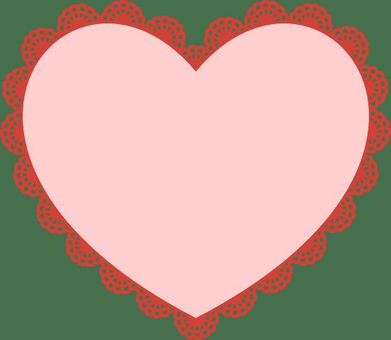 Doily Heart