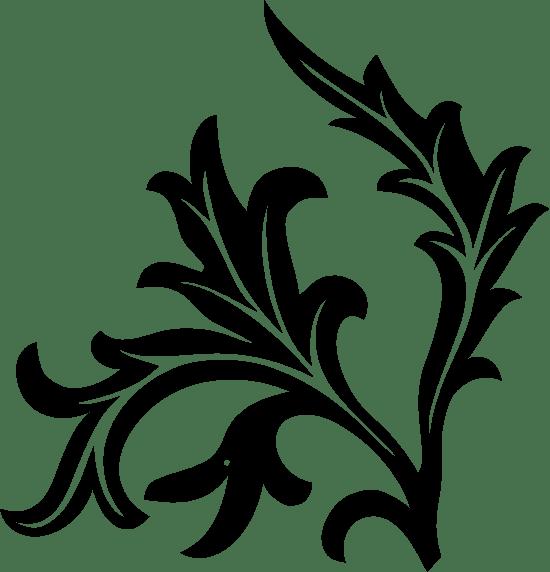 Leafy Stem Right