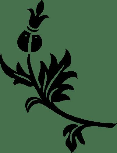 Leafy Sprig Left