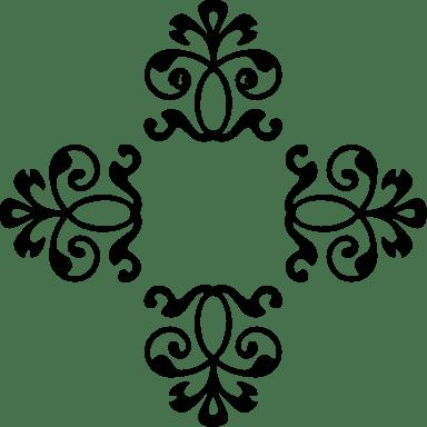 Quad Floral Flourish