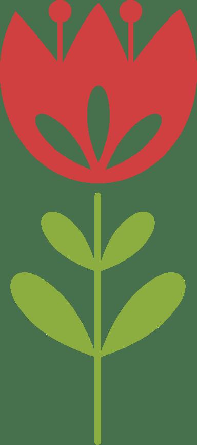 Graphic Tulip