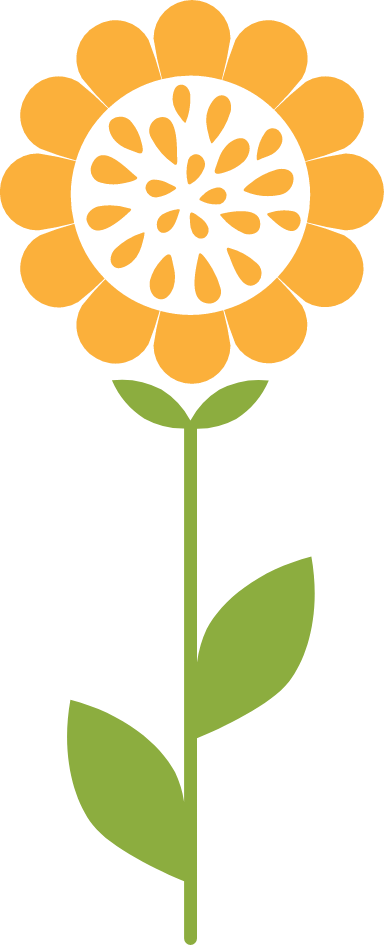 Graphic Sunflower