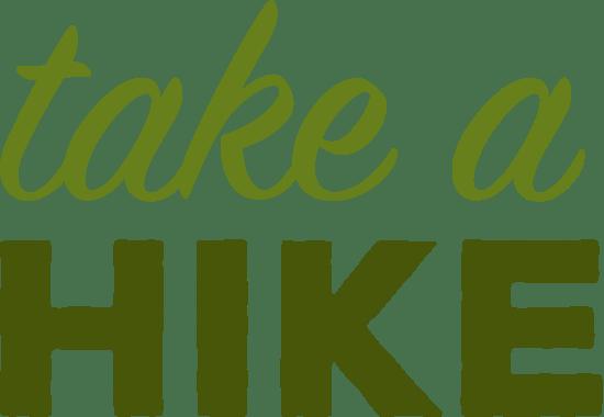 Take A Hike Text