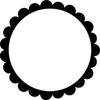 Scalloped Circle