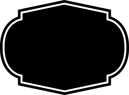 Dark Four-Point Badge