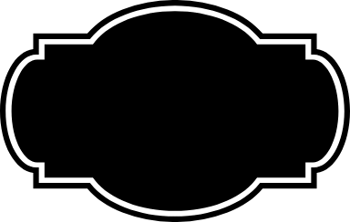 Dark Cartouche Badge