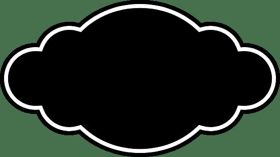 Dark Puffy Badge