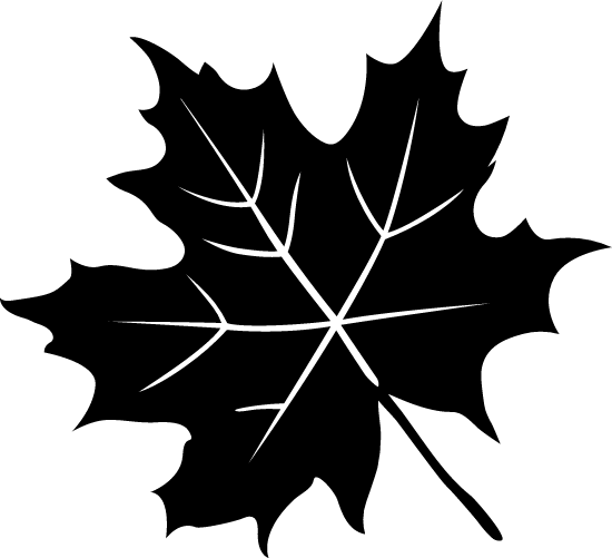 Dark Maple Leaf