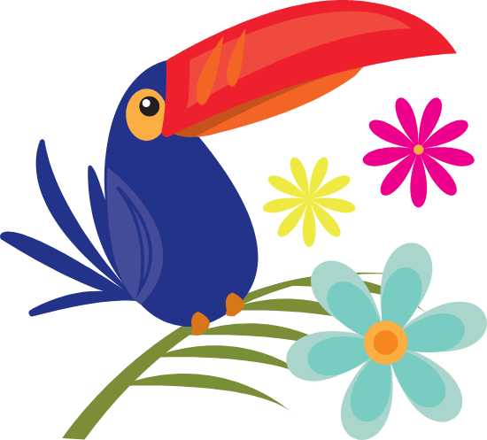 Red-Beaked Toucan
