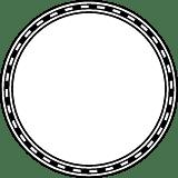 Dashed Rope Circle