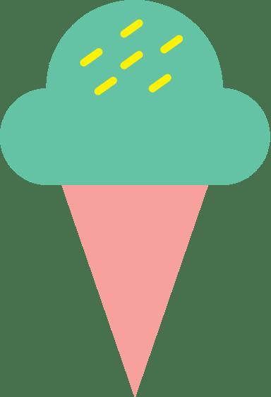 Ice Cream & Cone