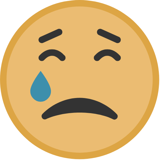 Yellow Crying Face