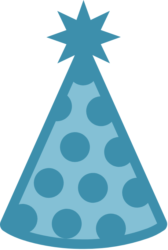 Dotted Party Hat