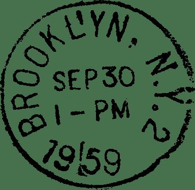 Brooklyn Postmark