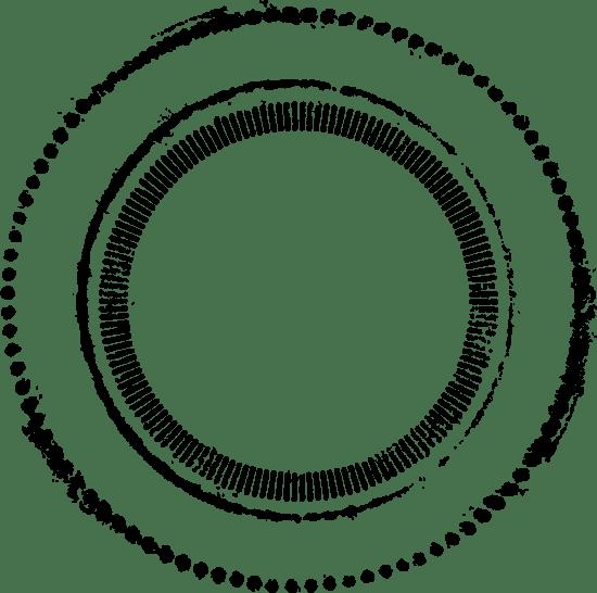Circular Postmark