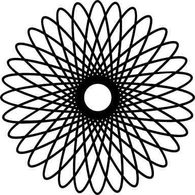 Coiled Spirograph