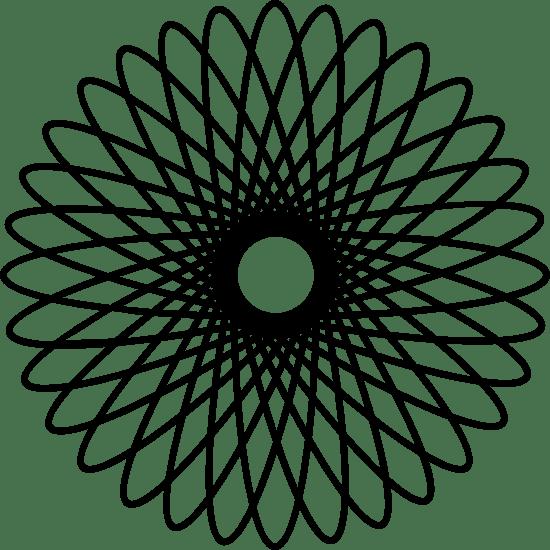 Coiled Spirograph
