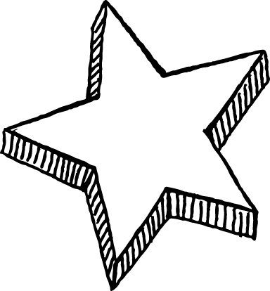Raised Star