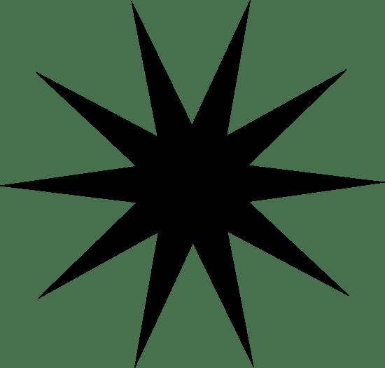 Ten-Pointed Star