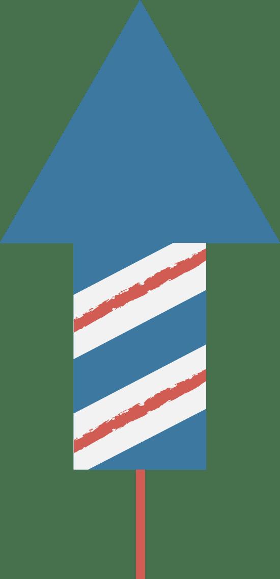 Unlit Bottle Rocket
