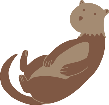 Carefree Otter