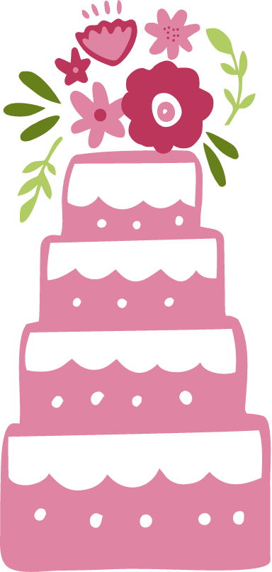 Wedding Cake 4-Tier