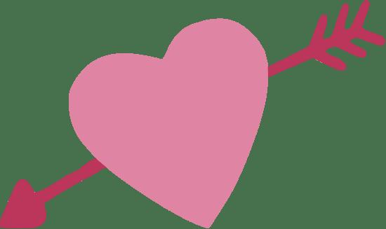 Elegant Cupid Heart