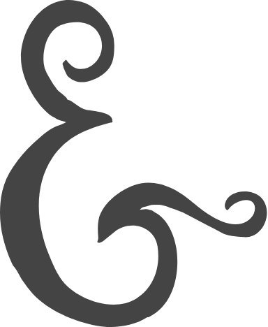 Wedding Ampersand