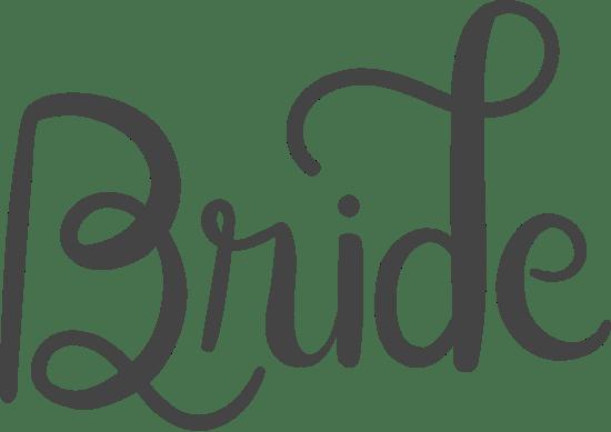 Bride Text
